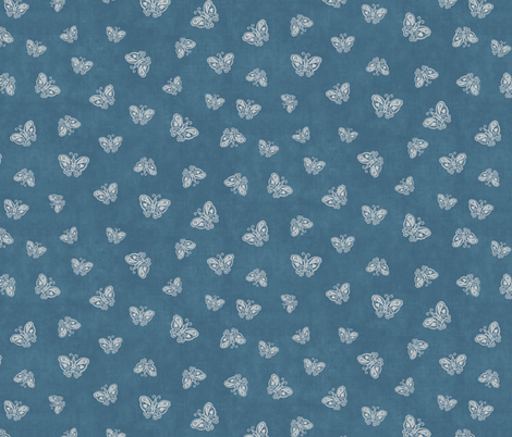Butterflies fabric by forest&sea on Spoonflower - custom fabric