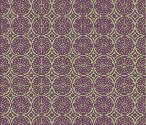 Circle Star fabric by periwinklepaisley on Spoonflower - custom fabric