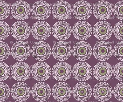 Circles and hexagons