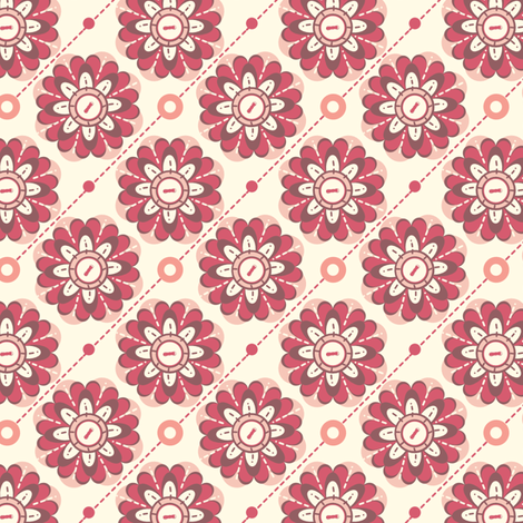 Floria fabric by eppiepeppercorn on Spoonflower - custom fabric