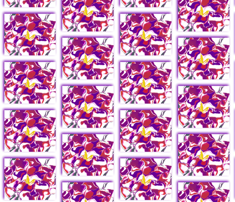 Tiled Swirls fabric by anniedeb on Spoonflower - custom fabric