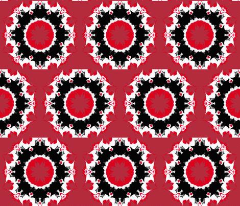 Wagon Wheels on Fire fabric by anniedeb on Spoonflower - custom fabric