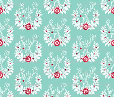 Rudolph Crest ~ Blue