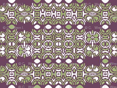 Geometric mayan limes