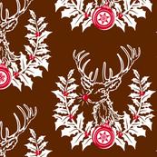 Rudolph Crest ~ Brown
