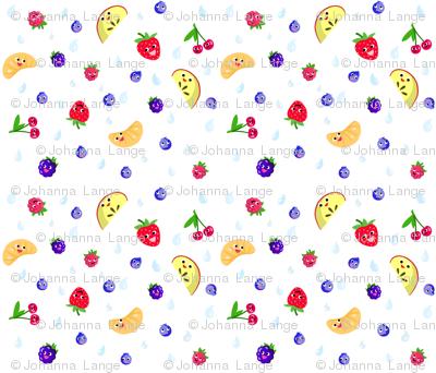 Happy Fruit White XL