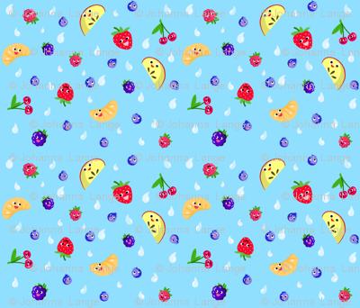 Happy Fruit Blue XL