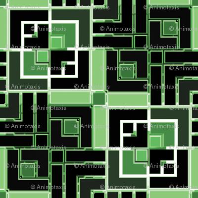 Metallic Square Mosaic 5
