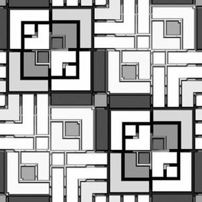 Metallic Square Mosaic 7
