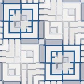 Metallic Square Mosaic 10