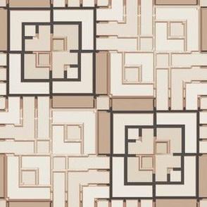 Metallic Square Mosaic 14