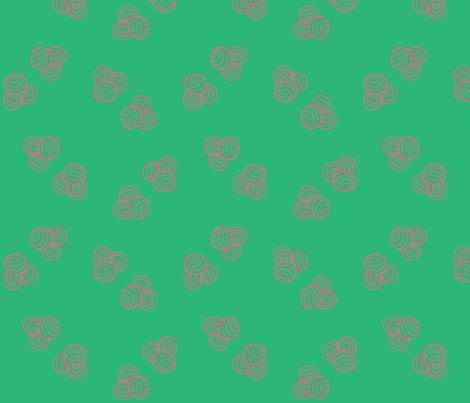 jugendstil-20 fabric by studiojelien on Spoonflower - custom fabric