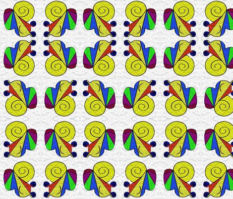 SNAILx4 fabric by sharpestudiosdesigns on Spoonflower - custom fabric