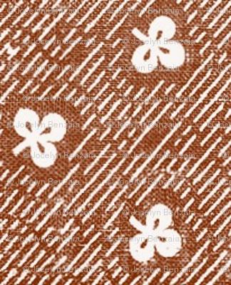 Brown Clover Calico