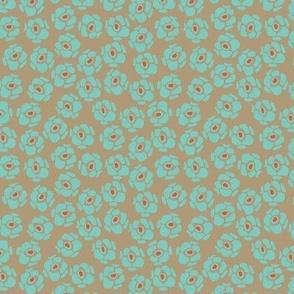 florettes turquoise