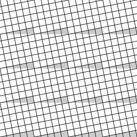 rotated rectangle root 1:25:26 fabric by sef on Spoonflower - custom fabric