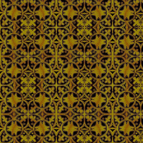 Interlock Gold & Black