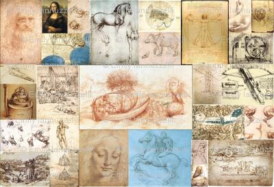 Leonardo Da Vinci Mosaic
