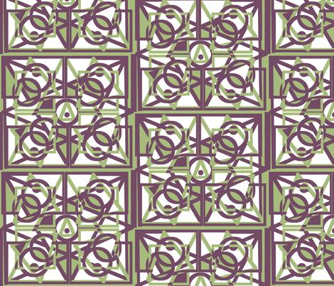 Geometric Shapes fabric by revbellamahri on Spoonflower - custom fabric