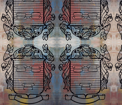 Coat_of_Arms fabric by sigche on Spoonflower - custom fabric