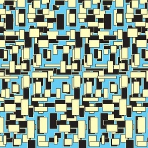 The One With All The Squares Blue