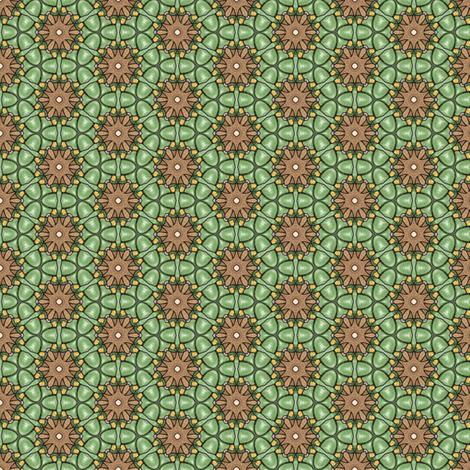 Natane's Moss fabric by siya on Spoonflower - custom fabric