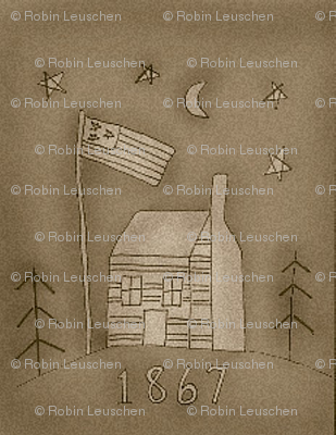 log_cabin_brown