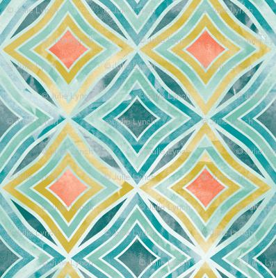Garden Diamond Geometric