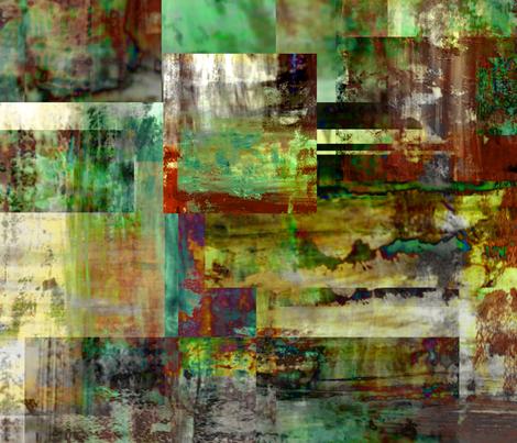 Rusted Turn fabric by feebeedee on Spoonflower - custom fabric
