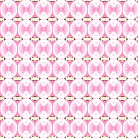 Candy Skies - Rose Bubbles fabric by siya on Spoonflower - custom fabric
