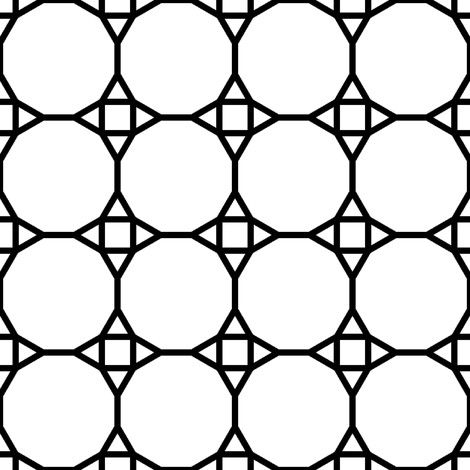 01198890 : TC43 V : outline fabric by sef on Spoonflower - custom fabric