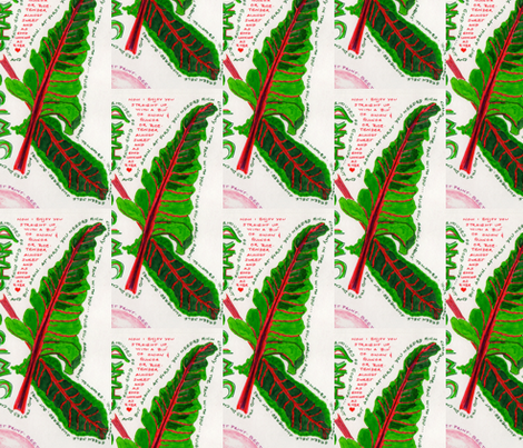 Chard fabric by eaw on Spoonflower - custom fabric