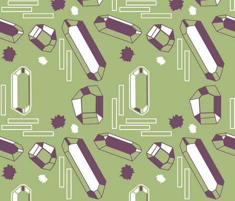 QuartzDuo fabric by kateg on Spoonflower - custom fabric