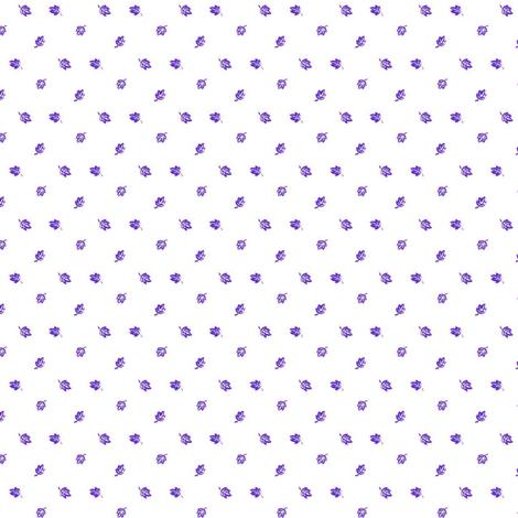 Tiny Purple Leaves fabric by the_cornish_crone on Spoonflower - custom fabric