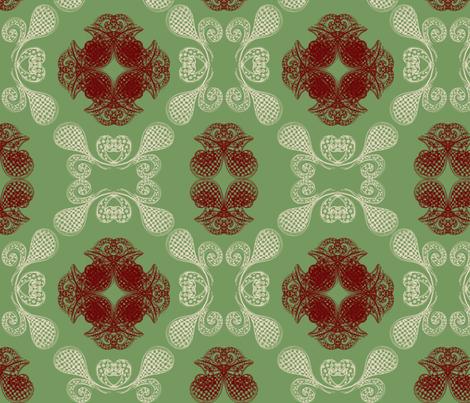 crest_pattern fabric by ginaglynn on Spoonflower - custom fabric