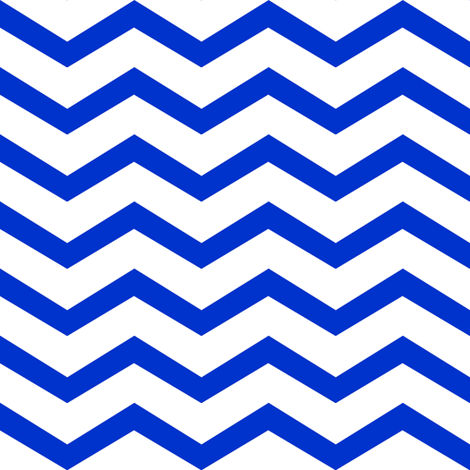 navy and white chevron fabric by luluhoo on Spoonflower - custom fabric