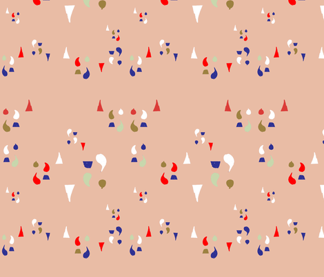 stamp fabric by tamptation on Spoonflower - custom fabric