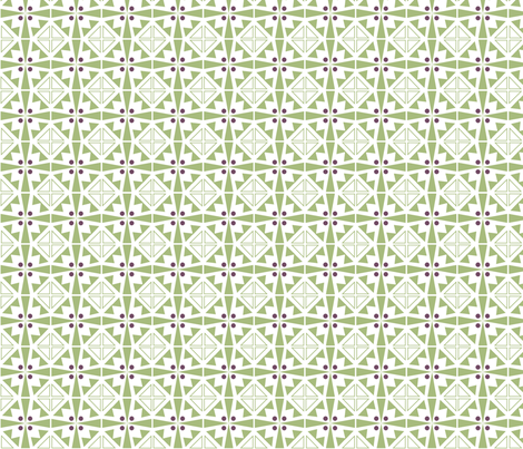 Geo Tiles fabric by atomic_bloom on Spoonflower - custom fabric