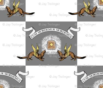 Crest of House Weaseltoast