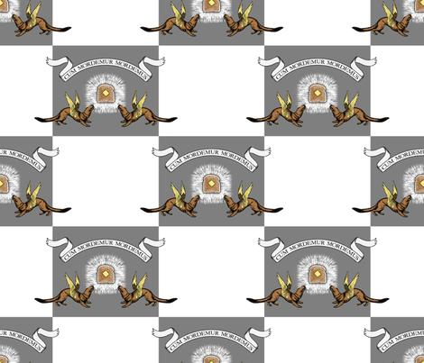 Crest of House Weaseltoast fabric by ormolu on Spoonflower - custom fabric