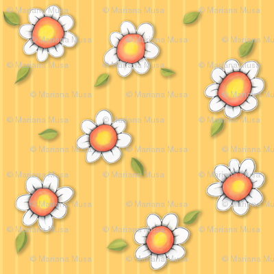 DaisyJoy on Yellow Stripes