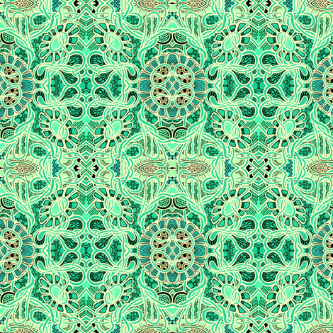 How Green Was My Garden? fabric by edsel2084 on Spoonflower - custom fabric