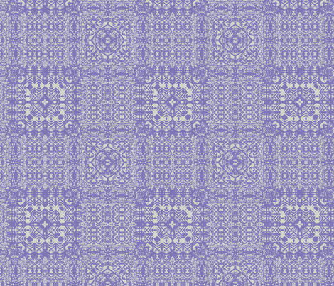 Wisteria Patchwork fabric by wren_leyland on Spoonflower - custom fabric