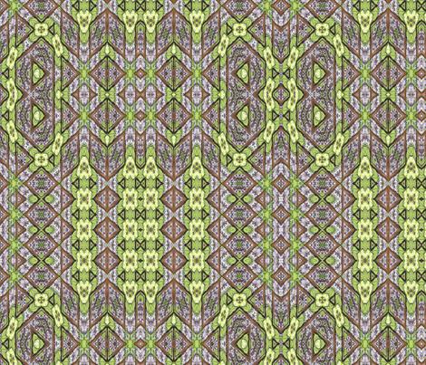 wisteria woodland maze fabric by wren_leyland on Spoonflower - custom fabric