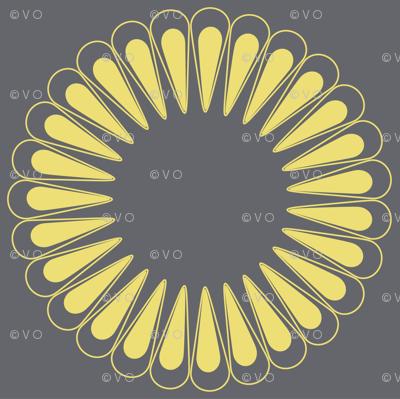 8 inch Sunflower
