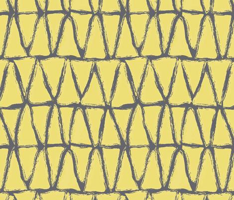 sunny triangles fabric by vo_aka_virginiao on Spoonflower - custom fabric