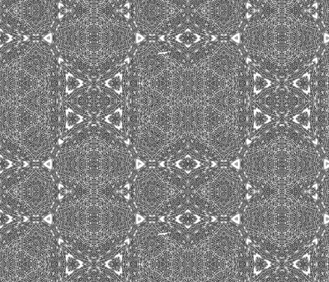 black-white lace fabric by wren_leyland on Spoonflower - custom fabric