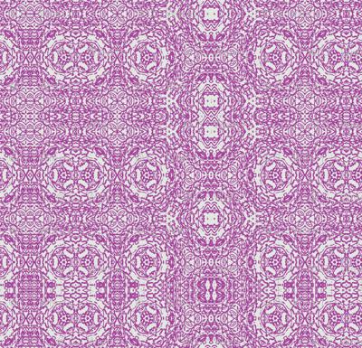 Violet Wisteria Lace