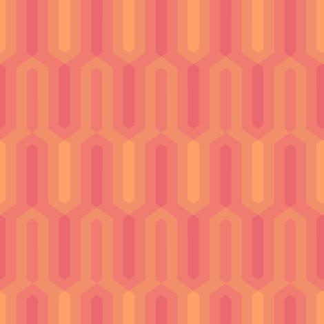 11_architect_salmon fabric by guapa on Spoonflower - custom fabric