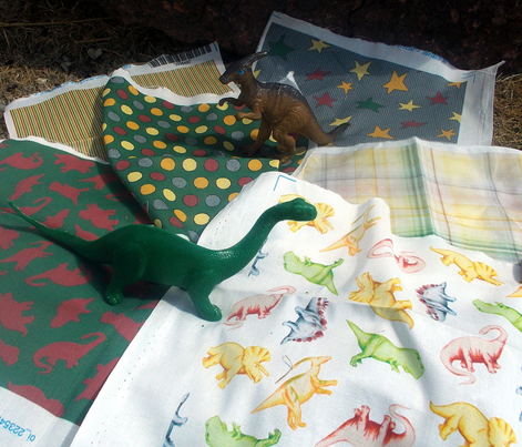 Dinos in Green and Brown
